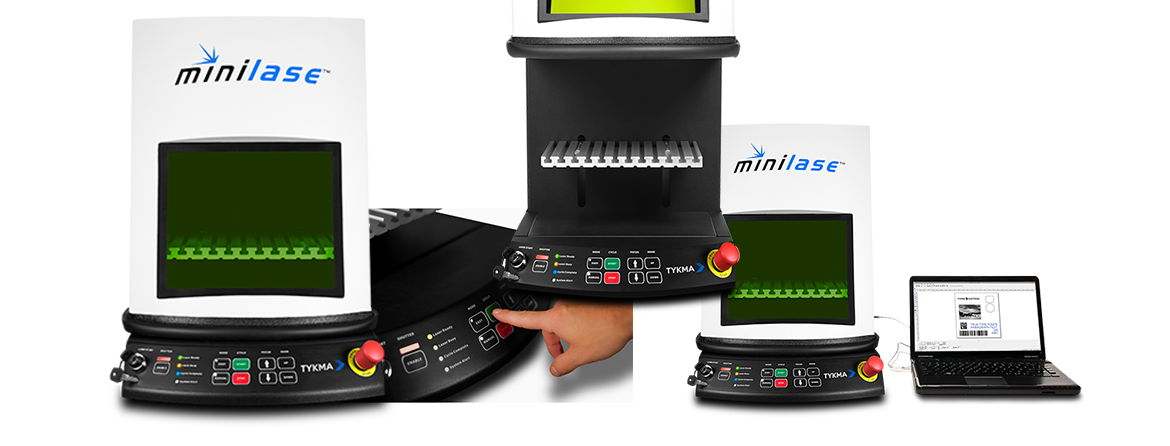 Minilase Laser Marking System by TYKMA Technologies